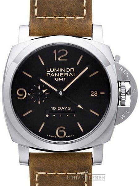 Panerai Luminor 1950 10 Days GMT Automattic Acciaio