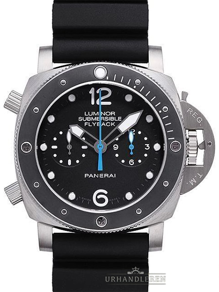 Panerai Luminor Submersible 1950 3 Days Chrono Flyback Automattic Titanio