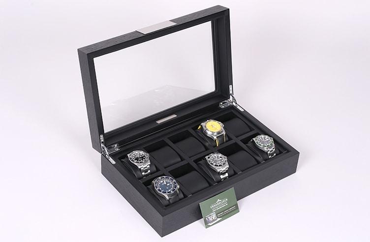 Lindenæs of Denmark Uhrenbox für 10 Uhren