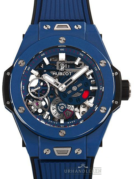 Hublot Big Bang Meca-10 Keramik blau