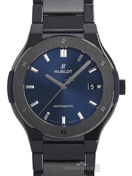 Hublot Classic Fusion Keramik blau Bracelet