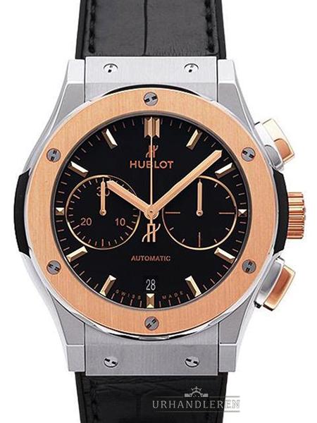 Hublot Classic Fusion Chronograph Titan King Gold