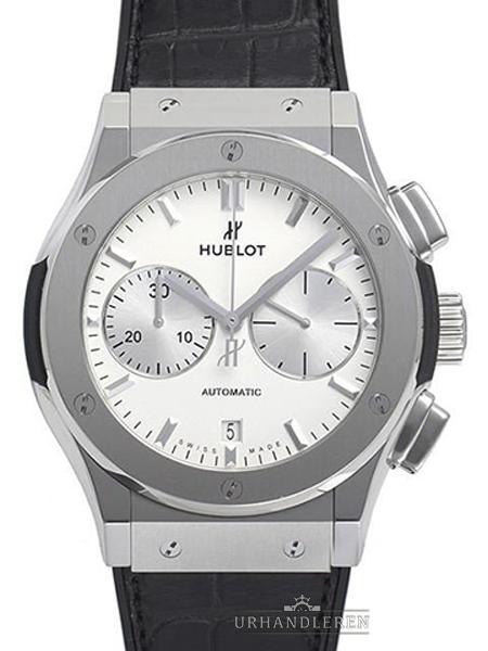 Hublot Classic Fusion Chronograph Titan Opalin