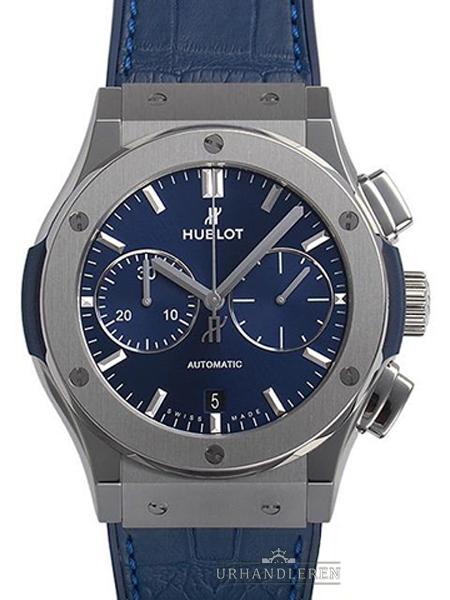 Hublot Classic Fusion blau Chronograph Titan