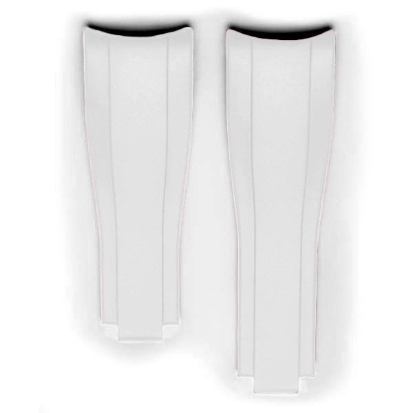 Everest Kautschukarmband für Faltschließe für Rolex Sea-Dweller 4000 - White
