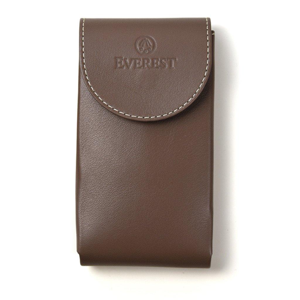 Everest Uhrenbeutel aus Leder - Taupe