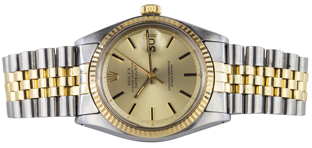 Rolex Datejust 36 mm Jubilee Champagner