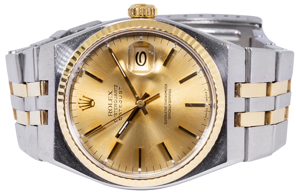 Rolex Oysterquarz champagner dial