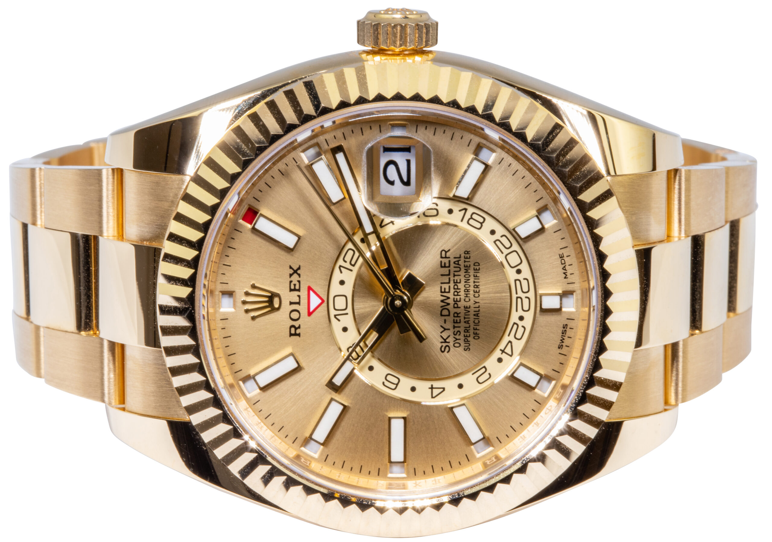 Sky-Dweller 326938 Gold Champagne