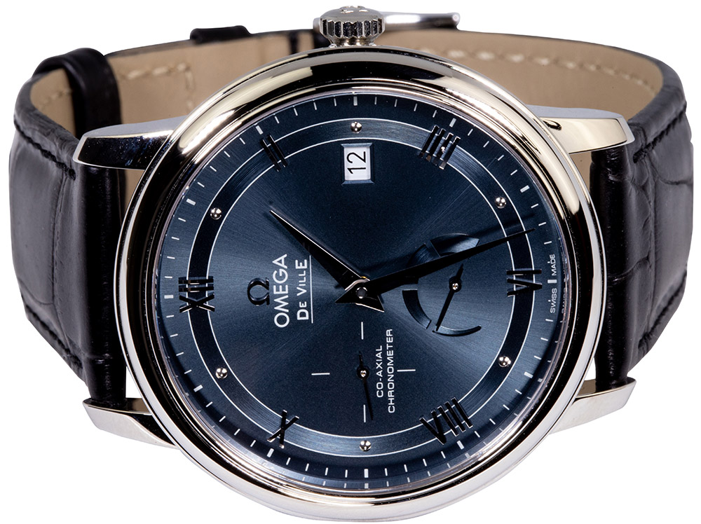 Omega De Ville PRESTIGE CO‑AXIAL POWER RESERVE 39.5 MM