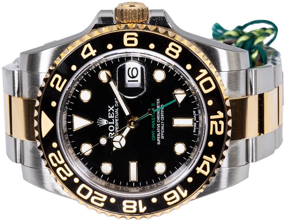 Rolex GMT-Master II Stahl / Gold