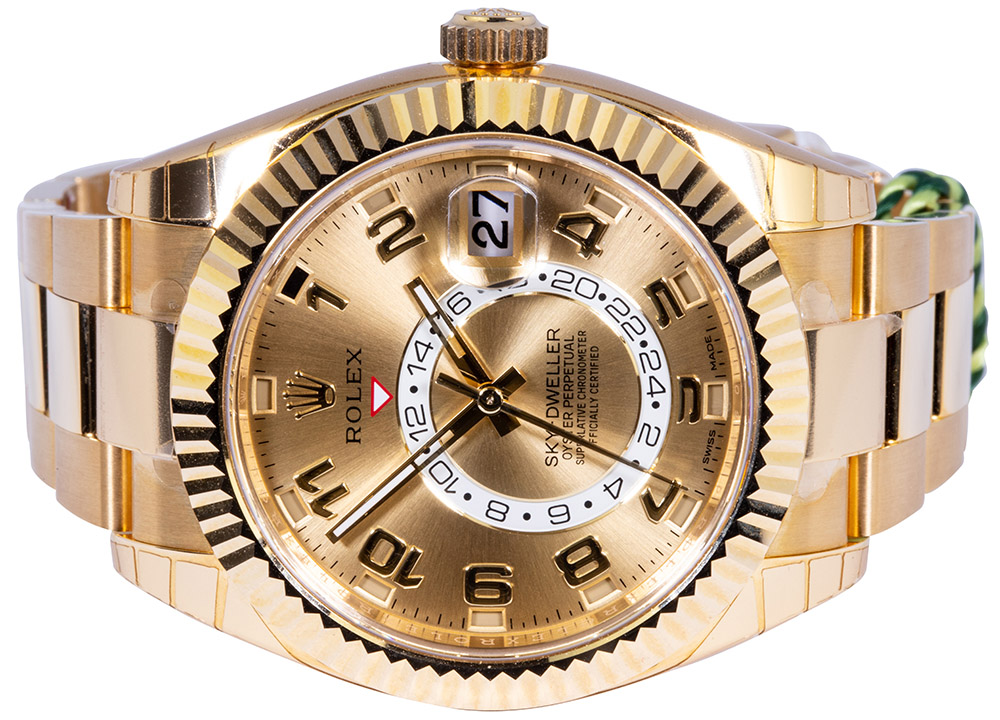 Sky-Dweller 326938 Gold Champagne