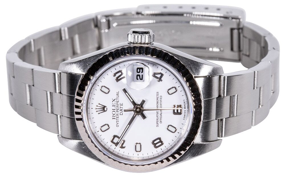 Rolex Datejust white arab Ref. 69174
