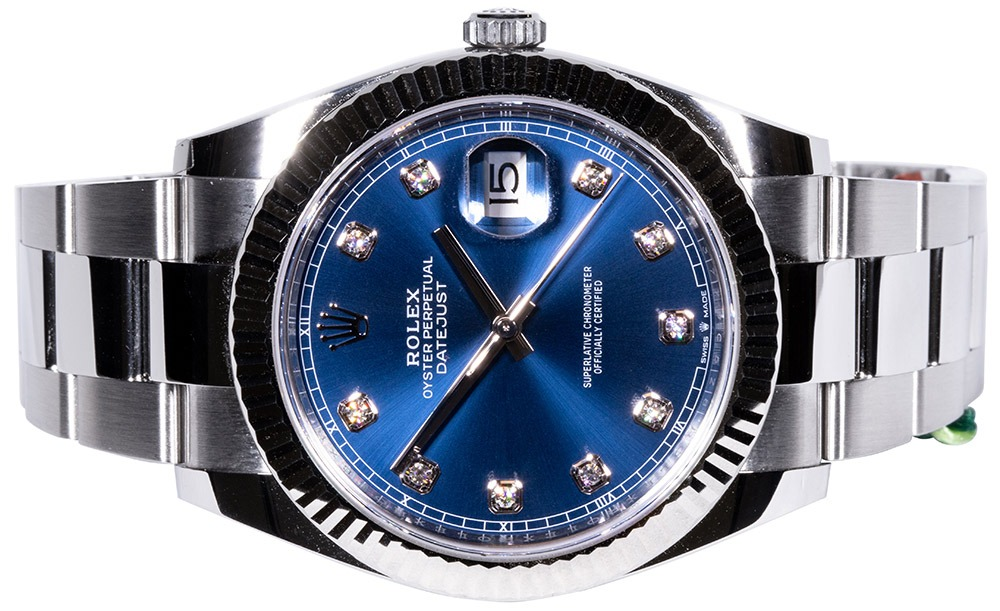 Rolex Datejust 41 blue dia oyster