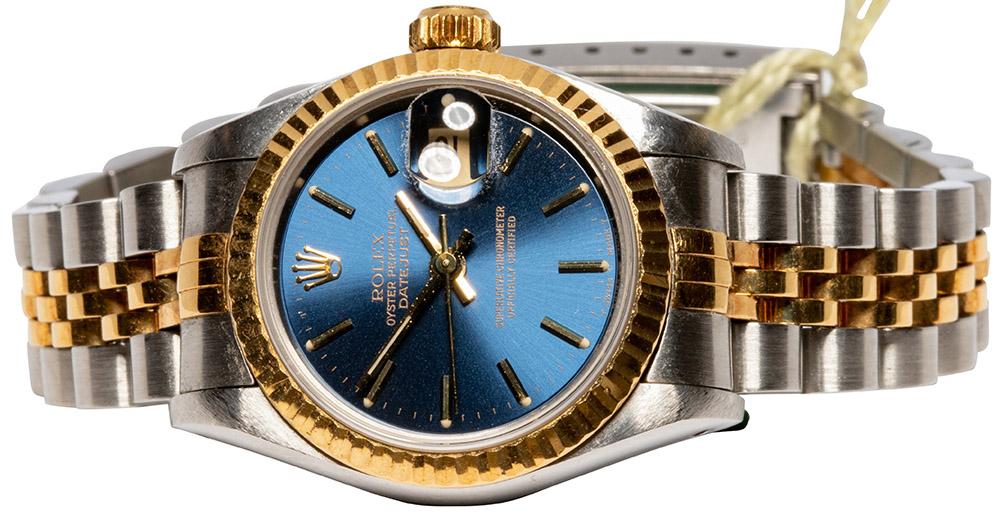 Rolex Datejust 69173 Blue Dial