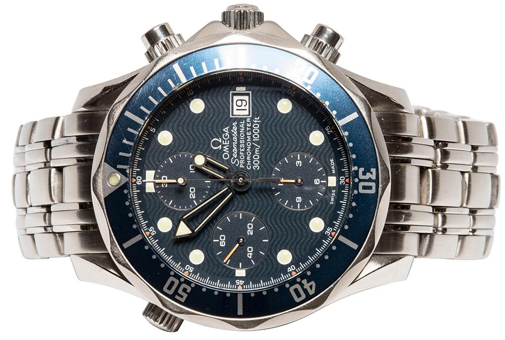 Omega Seamaster Diver 300m, Blue Wave Dial
