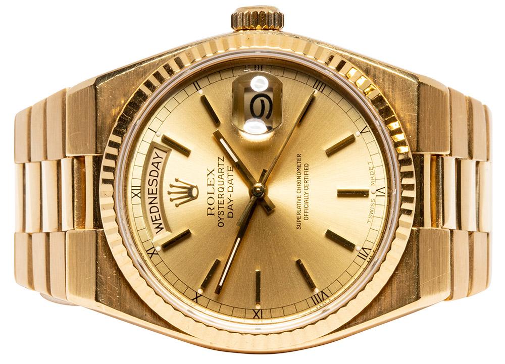 Rolex Day Date Oysterquarz