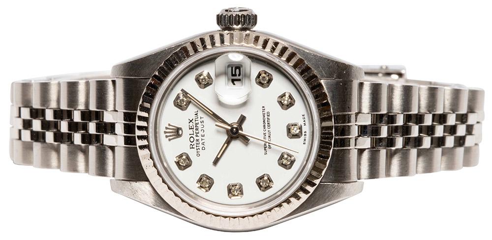 Rolex Datejust 26mm, diamant