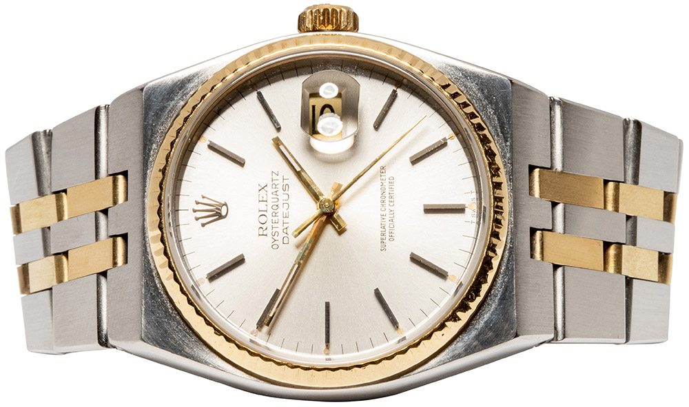 Rolex Datejust Oysterquarz silverdial