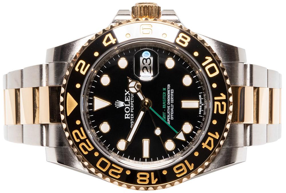 Rolex GMT-Master II Gold / Stahl