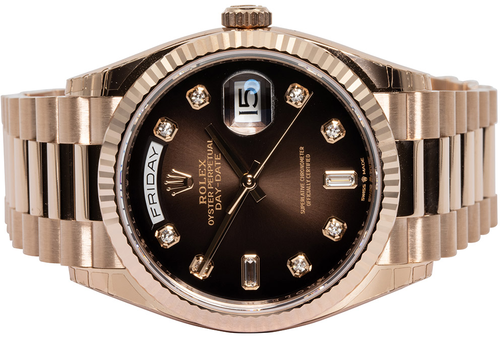 Rolex Day-Date, Chocolate Dial 36mm