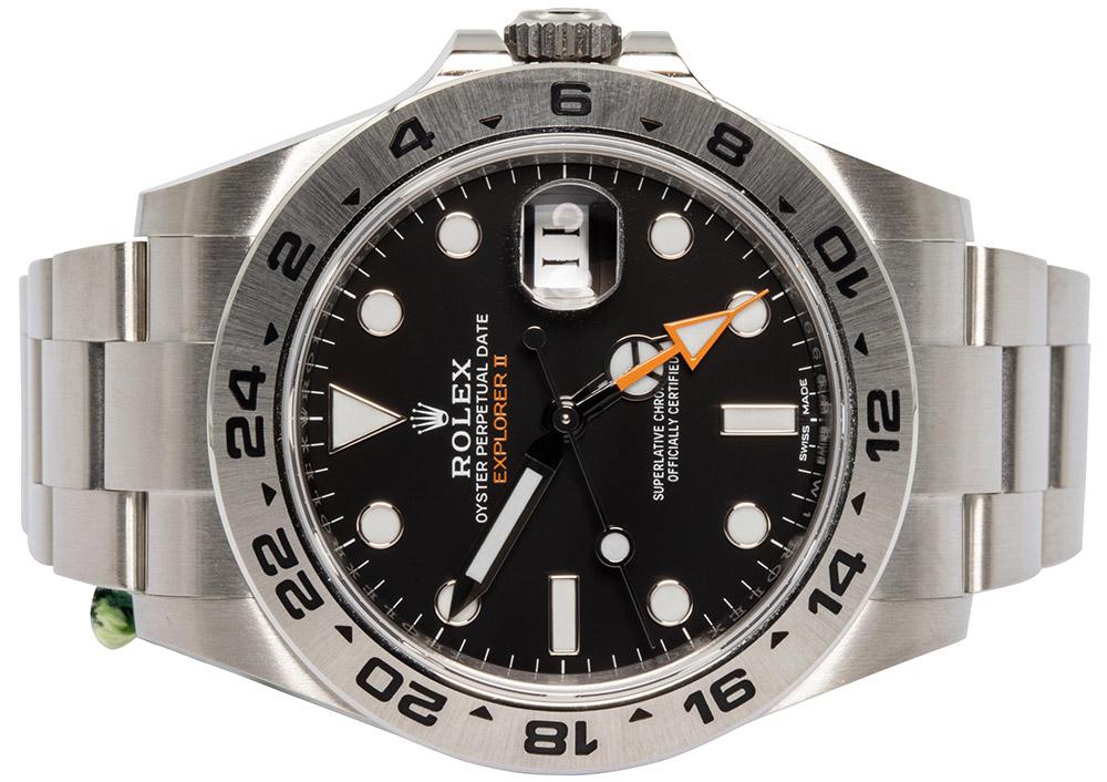 Rolex Explorer II, black dial
