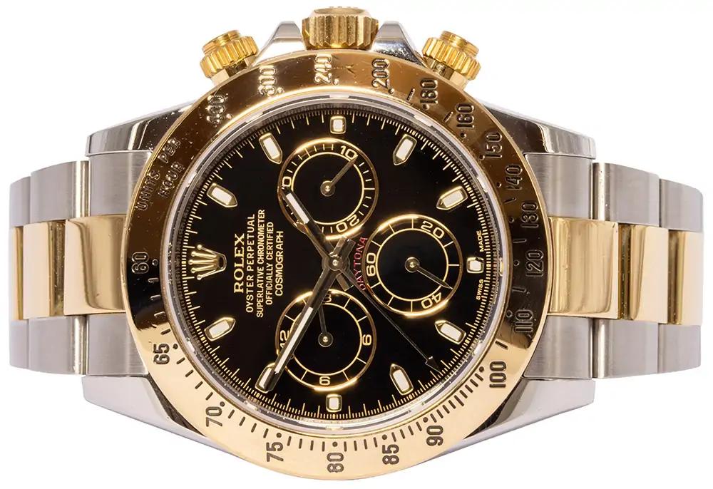 Rolex Daytona black dial 116523