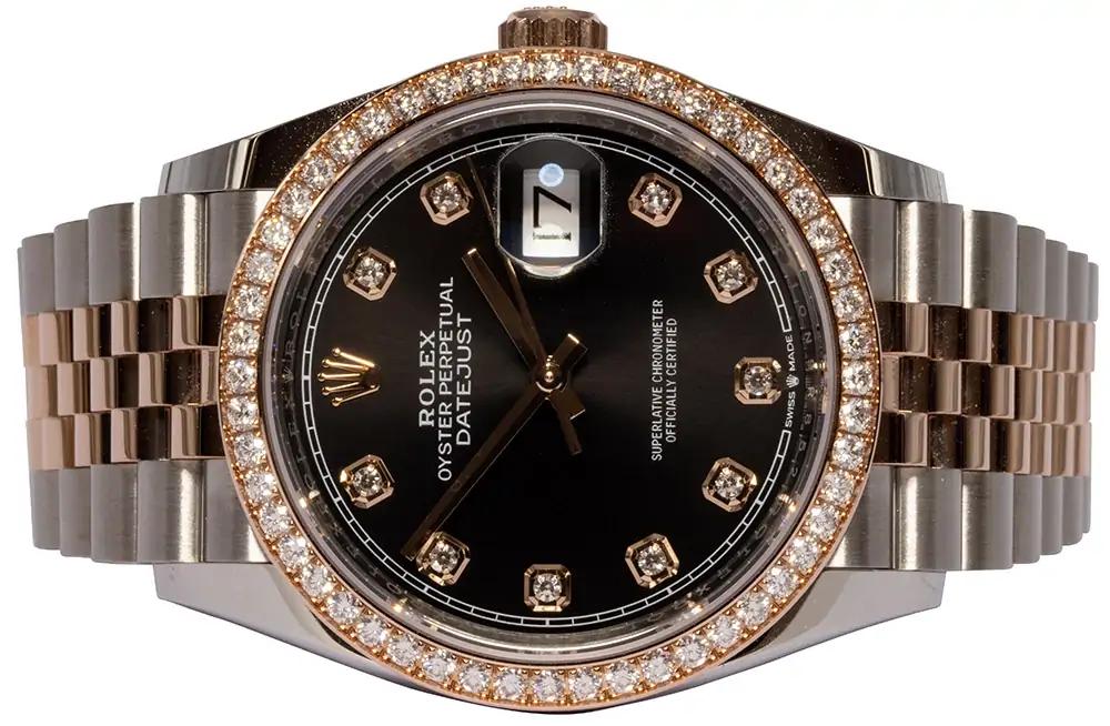 Rolex Datejust 36 black diamond jubilee