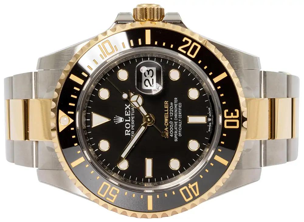 Rolex Sea Dweller Gold/Stahl