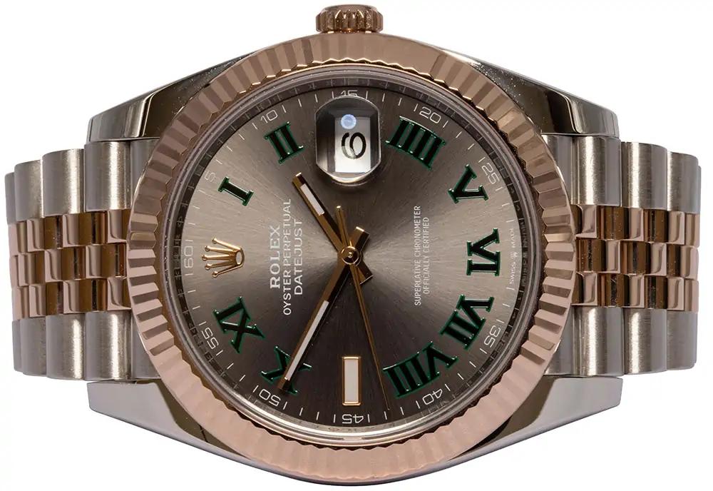 Rolex Datejust 41, Slate, Wimbledon, Jubilee