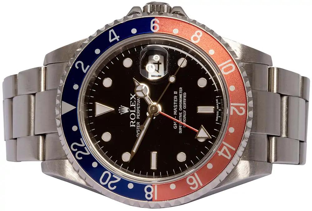 """Rolex GMT Master II 16710 """"Pepsi"""""""