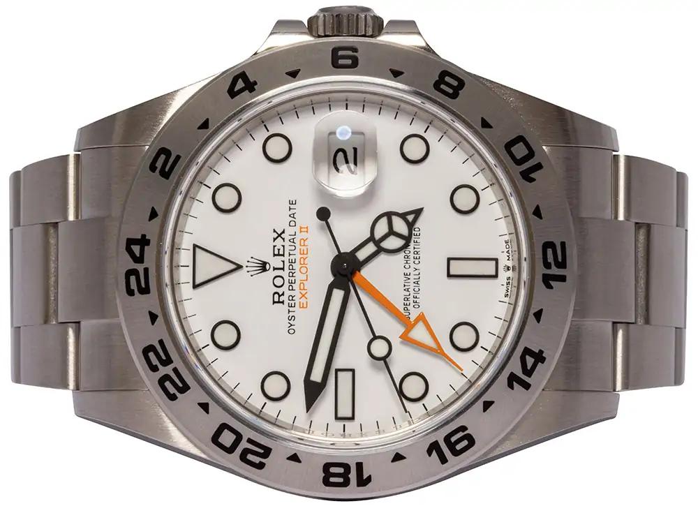 Rolex Explorer II white 226570